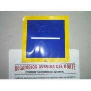 ADHESIVO CLASICO TRANSPORTE LOCAL LIGERO SERVICIO PUBLICO FURGONETA