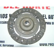 DISCO EMBRAGUE CITROEN C-8 Y FAMILIAR, BERLINA AZL, AZAM, AZAM-6, AXB, BREAK AMC, DYANE 6, DYNAM, MEHARI, AK Y AKS