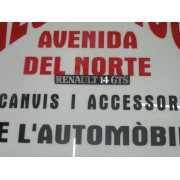 ANAGRAMA TRASERO PLASTICO RENAULT 14-GTS