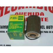 FILTRO ACEITE SAVA J 4 REF MANN P 189