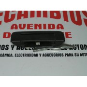 MANETA EXTERIOR DELANTERA IZQUIERDA NEGRA CITROEN AX REF ORG. 9614051977