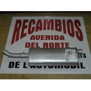 SILENCIOSO TRASERO RENAULT 12 Y 18 MOTOR 1,4 REF. FONOS 631133