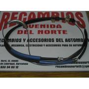 CABLE Y FUNDA FRENO DE MANO ORIGINAL SIMCA 1200 REF ORG.0012981000