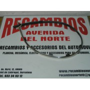 MOLDURA CROMADA PARAGOLPES DELANTERO RENAULT 19 1º, SERIE REF ORG, 7701366293