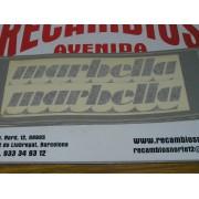 ADHESIVO MARBELLA (DOS PIEZAS) DE SEAT PANDA