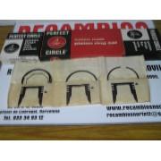 JUEGO DE SEGMENTOS PARA 4 CILINDROS RENAULT 8 REF PERFECT CIRCLE REF 50542 STD