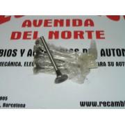 JUEGO DE 4 VALVULAS DE ESCAPE SIMCA 1000-1200 REF MONOVAL 1/5361