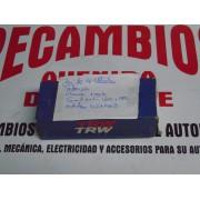JUEGO DE 4 VALVULAS DE ADMISION SEAT MOTORES 1600 Y 1800 CHAVETA UNA REGATA