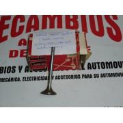 JUEGO DE 4 VALVULS DE ESCAPE CHAVETA DE TRES RANURAS SEAT MOTORES 1600 Y 1800