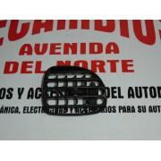 REJILLA REGULACION AIRE IZQUIERDA SALPICADERO PEUGEOT 206 REF ORG, 9632184877