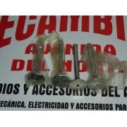 JUEGO DE 4 VALVULAS DE ESCAPE SEAT 124-1430-128 REF. 1897