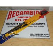 JUEGO DE DOS ESCOBILLAS LIMPIAPARABRISAS DE 38 cms ALFA ROMEO FIAT FORD SEAT REF ARTO