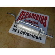 SILENCIOSO TRASERO SEAT 124-1430 DIAMETRO 40,5